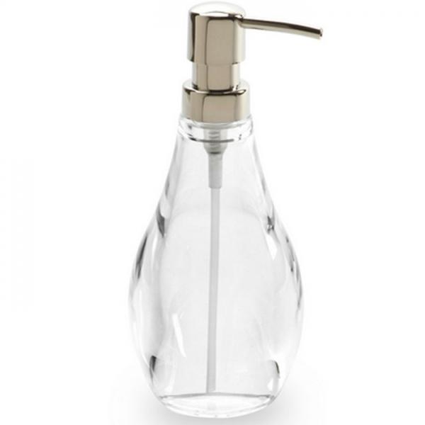 Диспенсер для жидкого мыла Droplet прозрачный Umbra