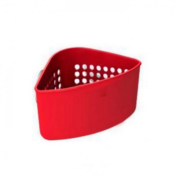 Уголок для раковины Umbra Caddy красный