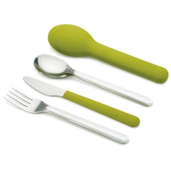 Набор столовых приборов GoEat™ Cutlery Set зелёный Joseph Joseph