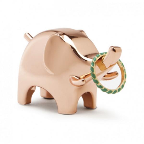 Подставка для колец Anigram слон медь Umbra