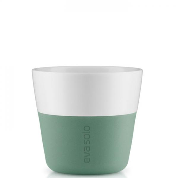 Набор из 2 средних стаканов для кофе EvaSolo 230 мл - лунно-зеленый