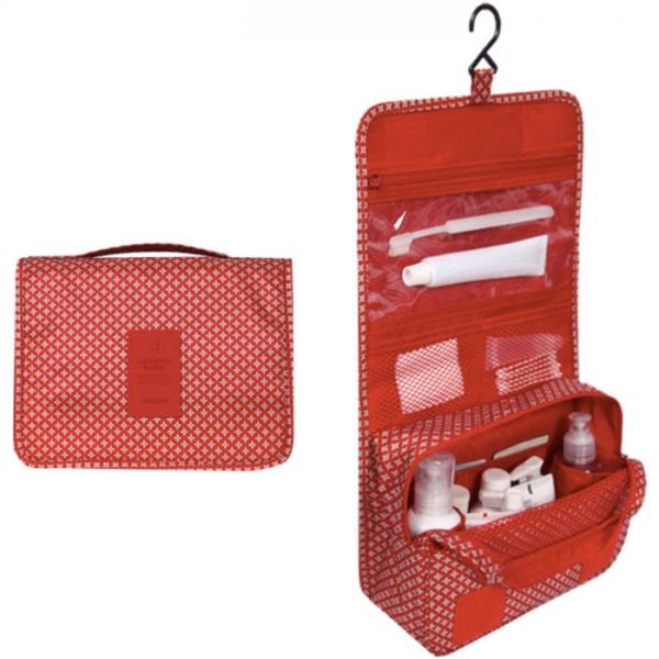 Органайзер для туалетный принадлежностей TOILETRY POUCH классический красный