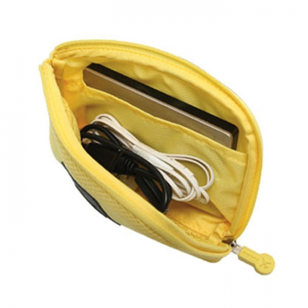 Органайзер для зарядных устройств CABLE POUCH size S желтый