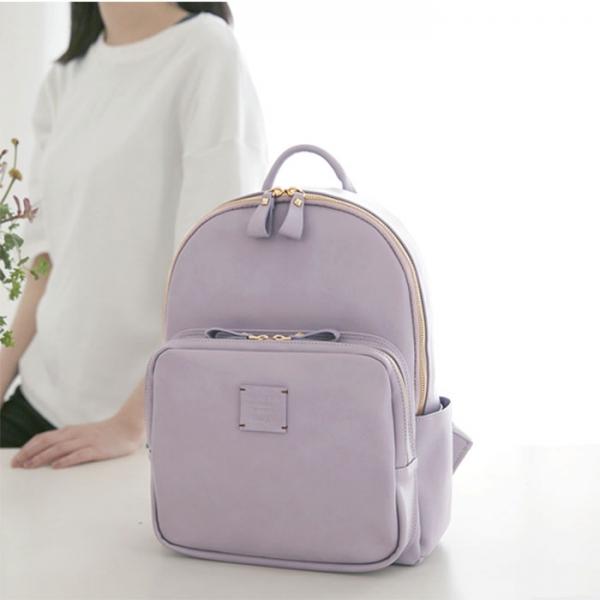 Женский рюкзак SQUARE MINI OFFICE BACKPACK средний фиолетовый