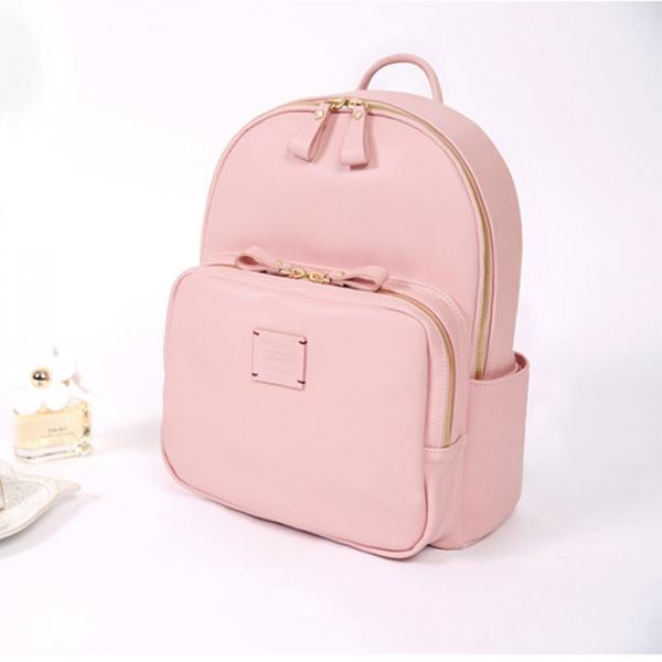 Женский рюкзак SQUARE MINI OFFICE BACKPACK средний розовый
