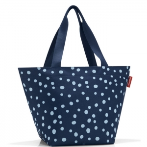 Сумка Shopper M spots navy Reisenthel