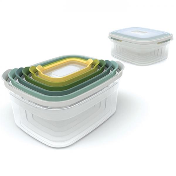 Контейнеры для хранения продуктов Nest™6 Опал  Joseph Joseph