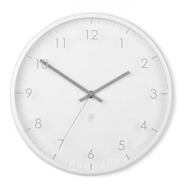 Часы настенные Umbra PACE белые