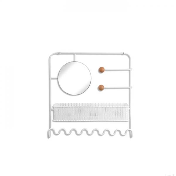 Органайзер для украшений надверный Umbra ESTIQUE белый