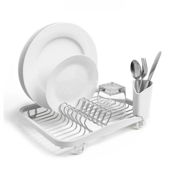 Сушилка для посуды Umbra SINKIN белая/никель