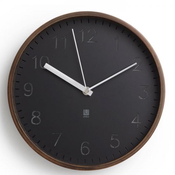 Часы настенные Umbra RIMWOOD орех