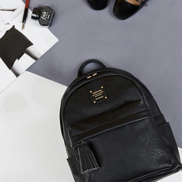 Женский рюкзак NUEVO MINI OFFICE BACKPACK средний черный