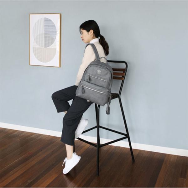 Женский рюкзак Office Backpack Daily серый
