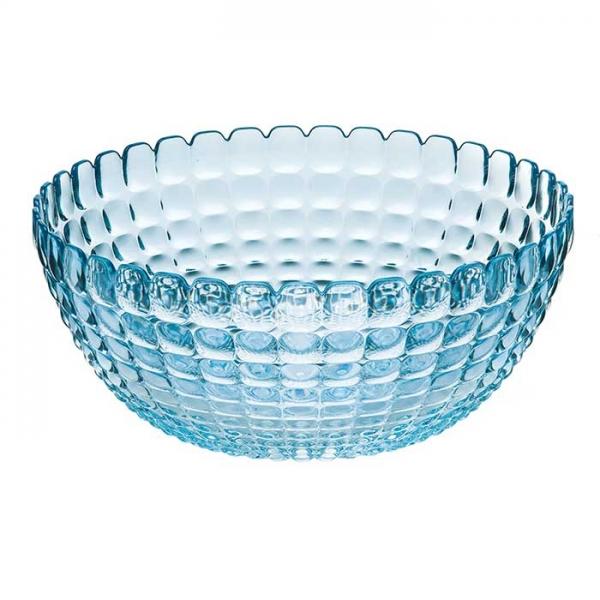 Салатница Tiffany L голубая Guzzini