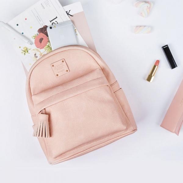 Женский рюкзак NUEVO MINI OFFICE BACKPACK средний розовый