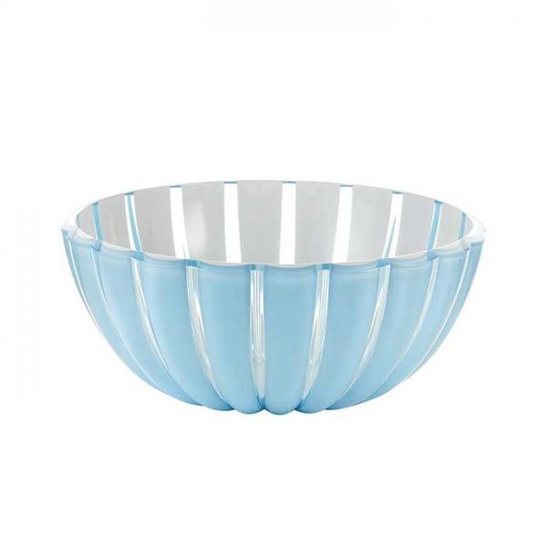 Салатница Grace 20 см голубая Guzzini