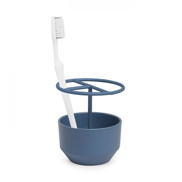 Подставка для зубных щёток FIBOO дымчато-синий Umbra