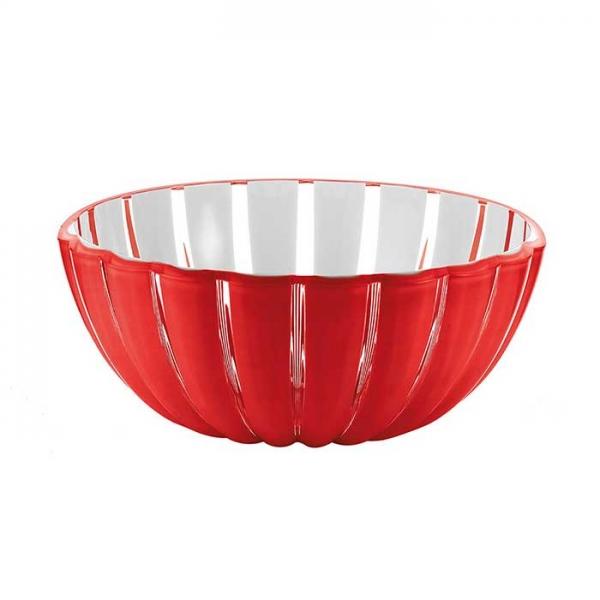 Салатница Grace 25 см красная Guzzini