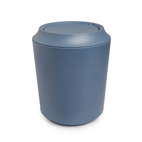 Корзина для мусора FIBOO дымчато-синий Umbra