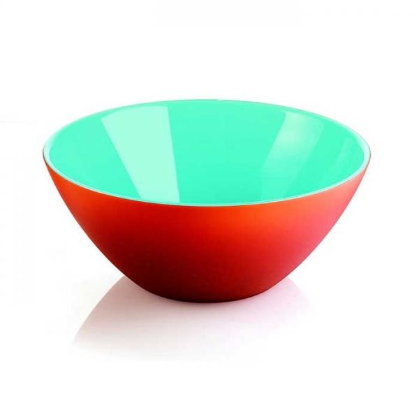 Салатница My Fusion 20 см красная/голубая Guzzini