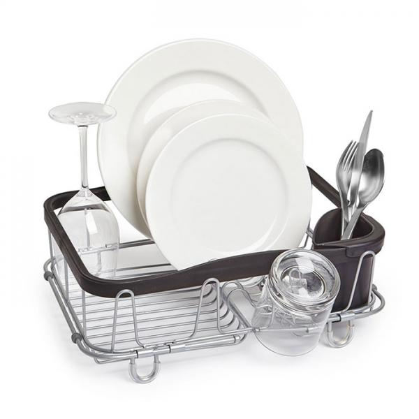 Сушилка для посуды Umbra SINKIN чёрный/никель