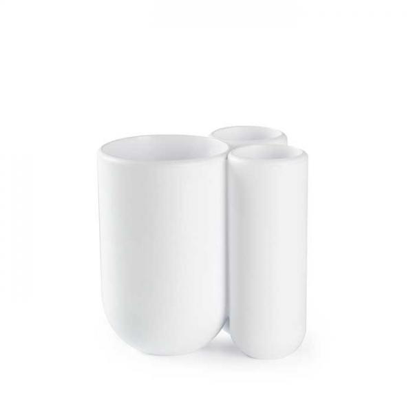 Подставка для зубных щеток Touch белая