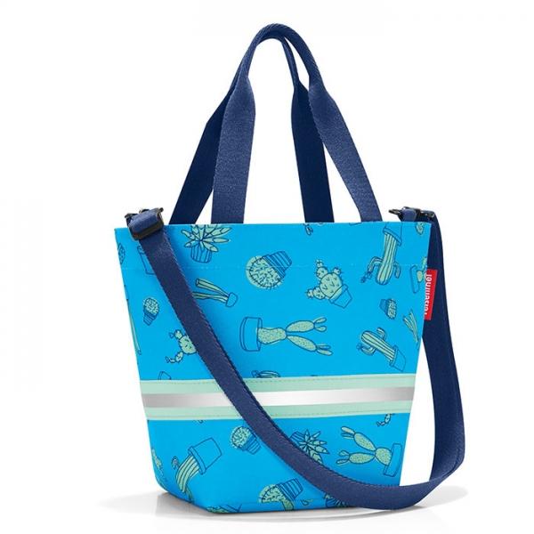 Сумка детская Shopper XS cactus blue Reisenthel