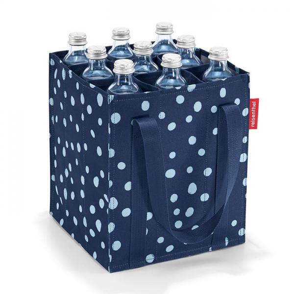 Сумка-органайзер для бутылок Bottlebag spots navy Reisenthel