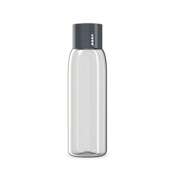 Бутылка для воды Dot 600 мл серая Joseph Joseph
