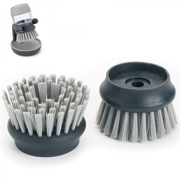 Насадки сменные для щетки с дозатором JOSEPH JOSEPH palm scrub™ 2 шт серые