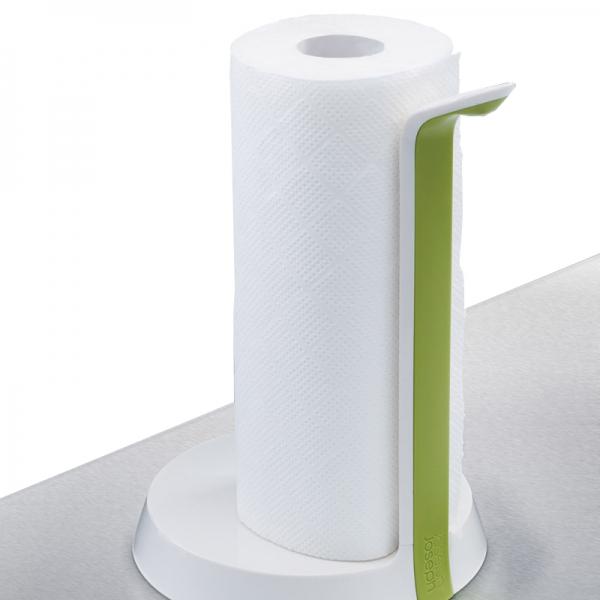 Держатель для бумажных полотенец Joseph Joseph easy tear™ белый/зеленый