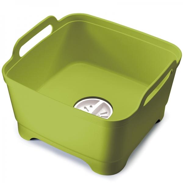 Контейнер для мытья посуды wash&drain™ зеленый