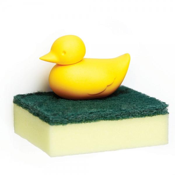 Держатель для губки duck жёлтый