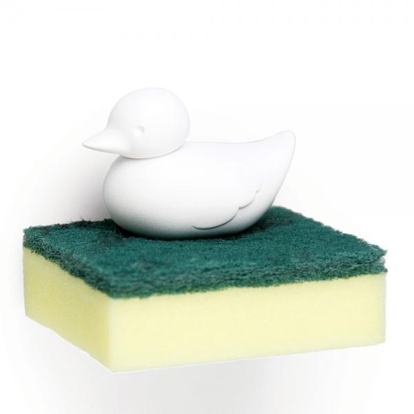 Держатель для губки duck белый