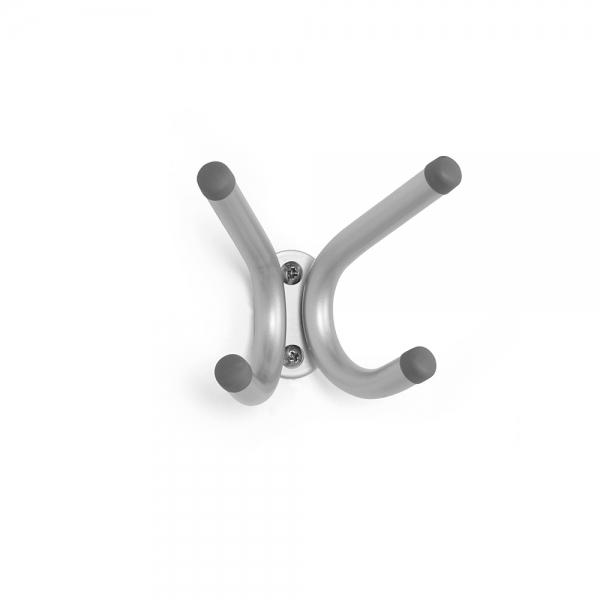 Вешалка настенная на на 4 крючка  brella никель