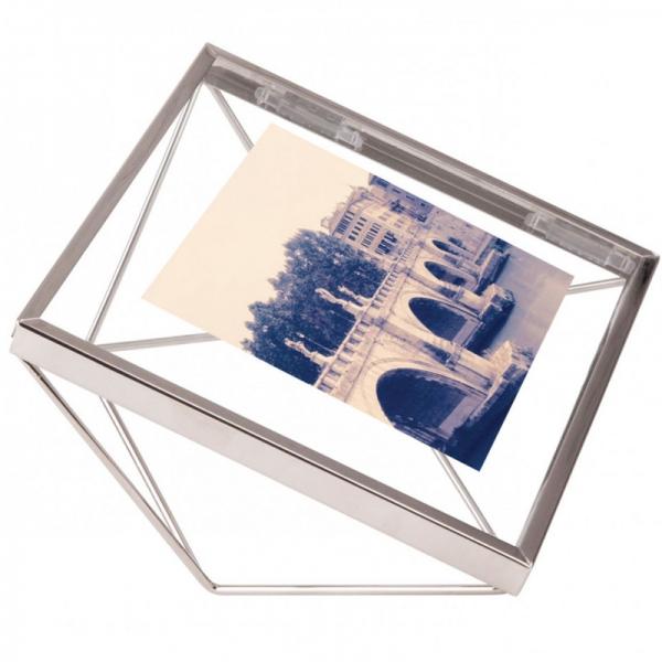 Фоторамка prisma 10х10 хром
