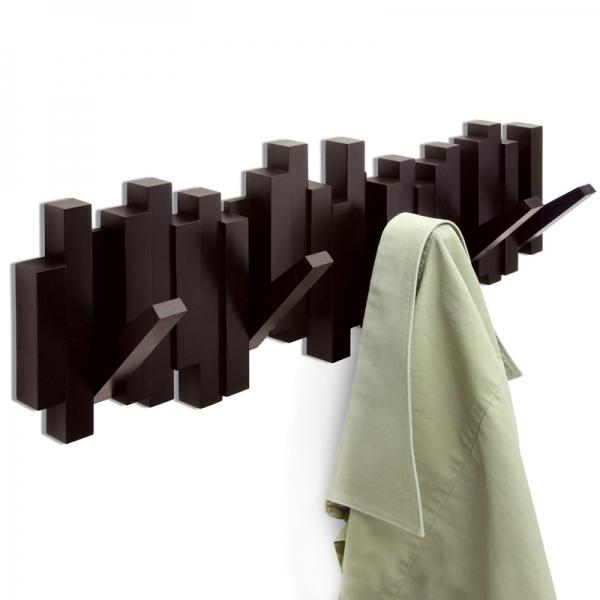 Вешалка настенная sticks эспрессо