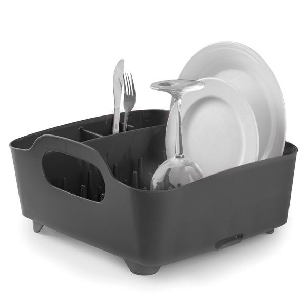 Сушилка для посуды Umbra tub серая