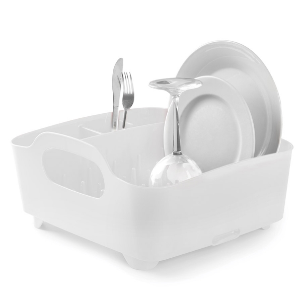 Сушилка для посуды Umbra tub белая