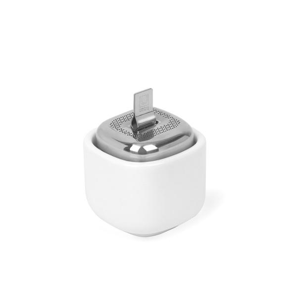 Ёмкость для заваривания cutea с подставкой белая