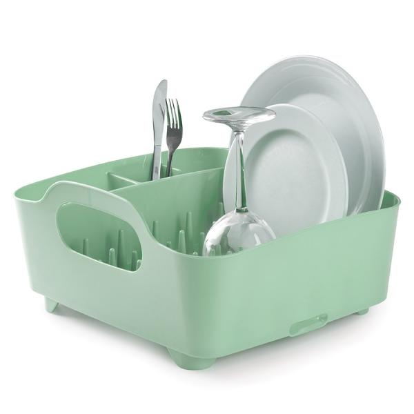 Сушилка для посуды Umbra tub мятная