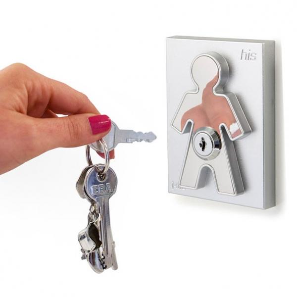 Холдер для ключей с брелоком his