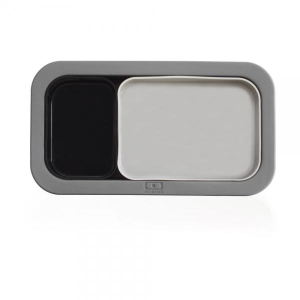 Форма для выпечки под ланч-бокс mb original серая+черная