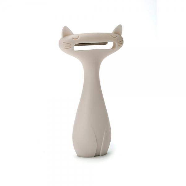 Пиллер для овощей Peleg Design catpeeler белый