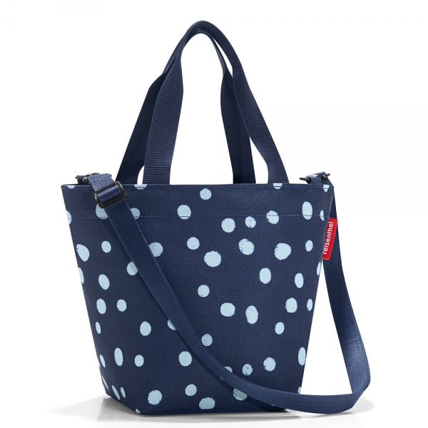 Сумка shopper xs spots navy