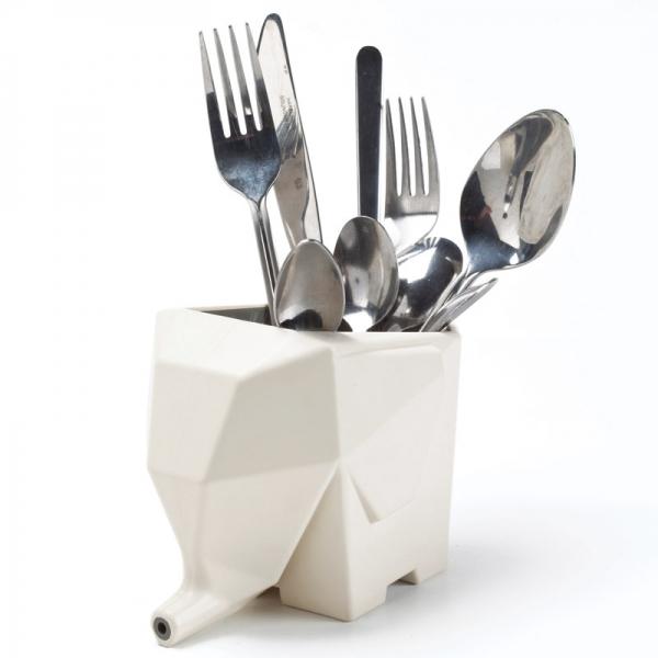 Сушилка для столовых приборов Peleg Design jumbo кремовая