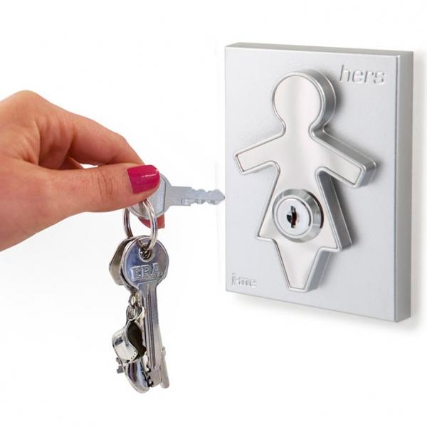 Холдер для ключей с брелоком hers