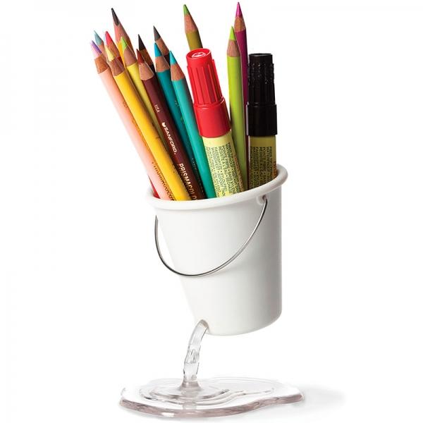 Органайзер для рабочего стола desk bucket белый
