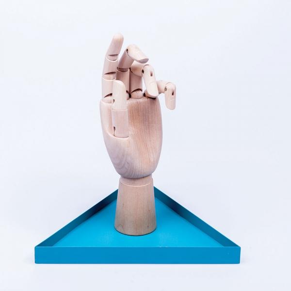 Органайзер для украшений the hand голубой