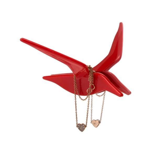 Держатель украшений fly by красный